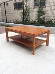 カリモクのコロニアルシリーズローテーブル