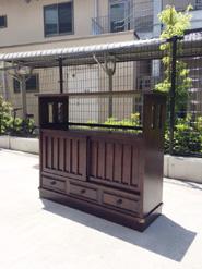 北海道民芸の茶棚