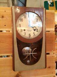 セイコー社のヴィンテージ掛時計