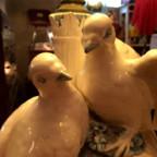 ヴィンテージの陶器ランプ