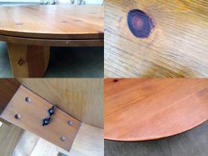 広松木工のGALAサークルテーブル詳細画像1