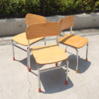 幼稚園で使われる子供椅子