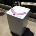 シャープの2014年製洗濯機