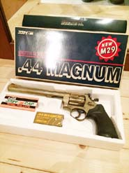 コクサイの44マグナムモデルガン