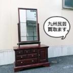 九州民芸の鏡台