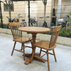 パイン材のテーブルセット