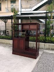 中国の紫檀茶棚
