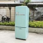 ウィルのターコイズブルー冷蔵庫