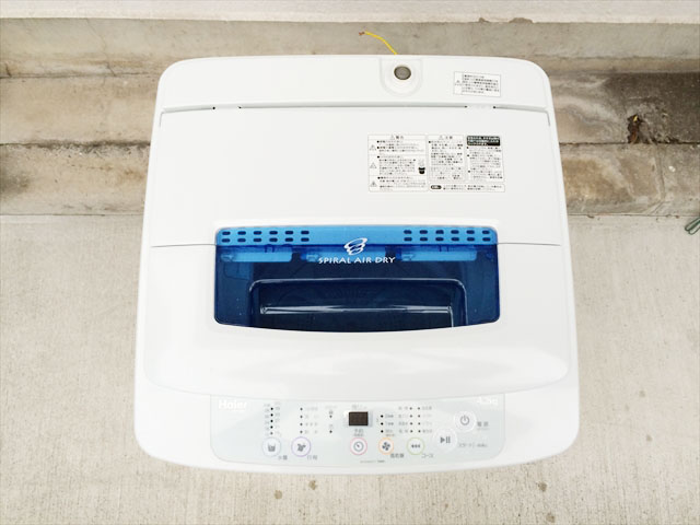 ハイアールの中古洗濯機