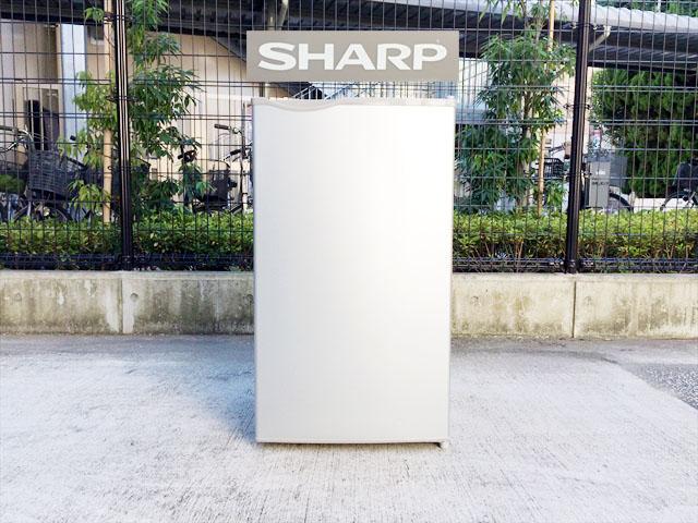 シャープの1ドア冷蔵庫