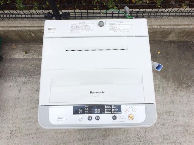 パナソニックの5KG洗濯機