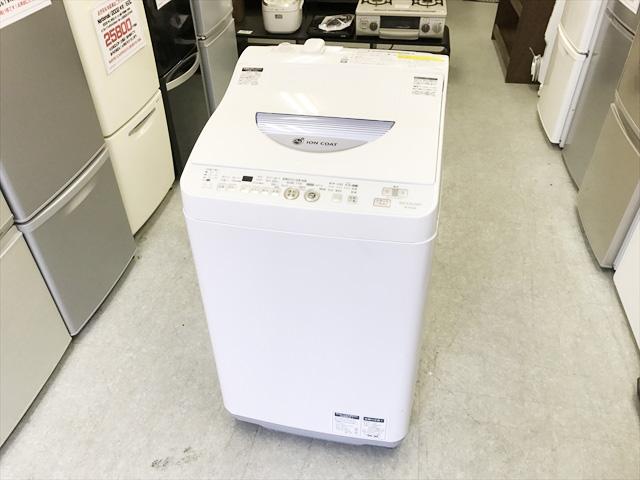 シャープの洗濯乾燥機