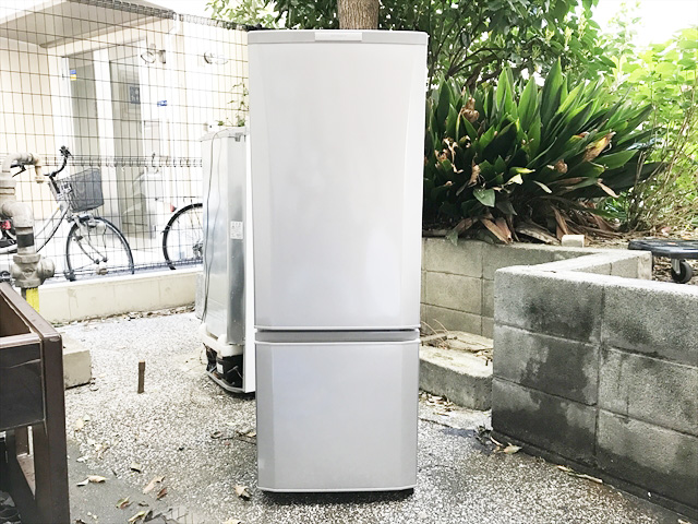 三菱2ドア冷蔵庫