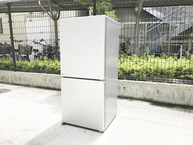2ドア冷蔵庫 全体