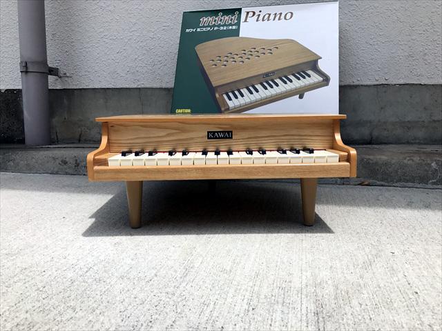 ミニピアノ 正面