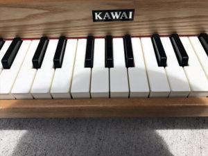 ミニピアノ 鍵盤