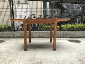 VIVOダイニングテーブル エクステンション正面