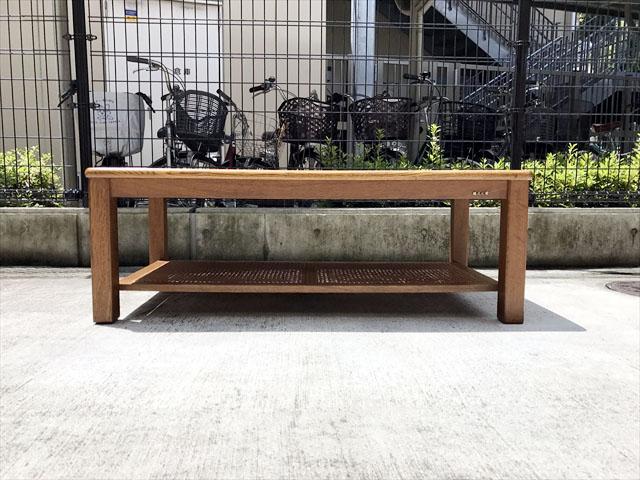 リビングテーブル 正面