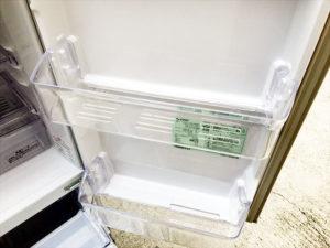 2ドア冷蔵庫 ストッカー部