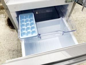 2ドア冷蔵庫 冷蔵室