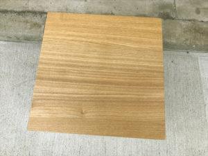タモ材サイドテーブル 天板