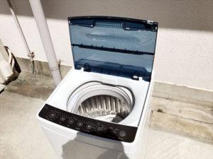 洗濯機 オープン時