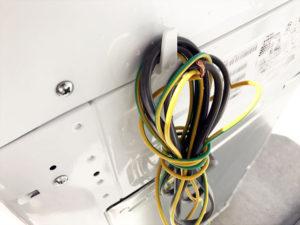 洗濯機 電源コード