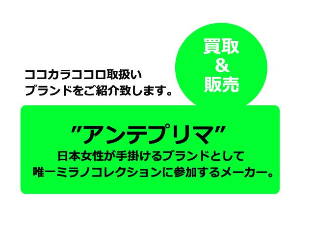アンテプリマブランド紹介