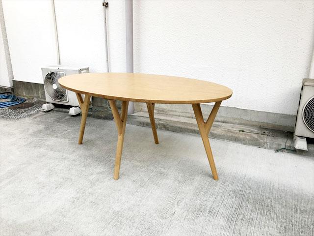 フランフランオーガダイニングテーブル