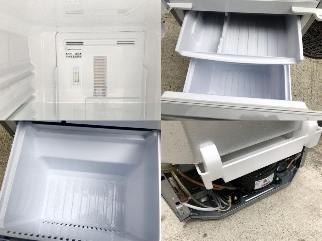 2017年製2ドア冷蔵庫詳細画像1