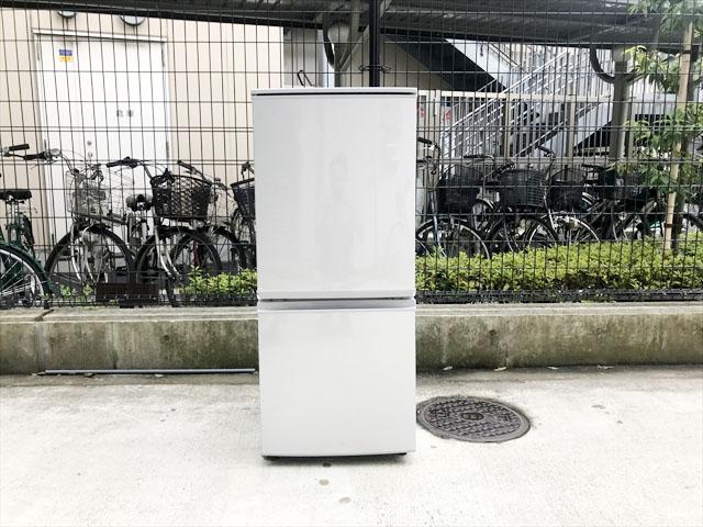 2017年製2ドア冷蔵庫