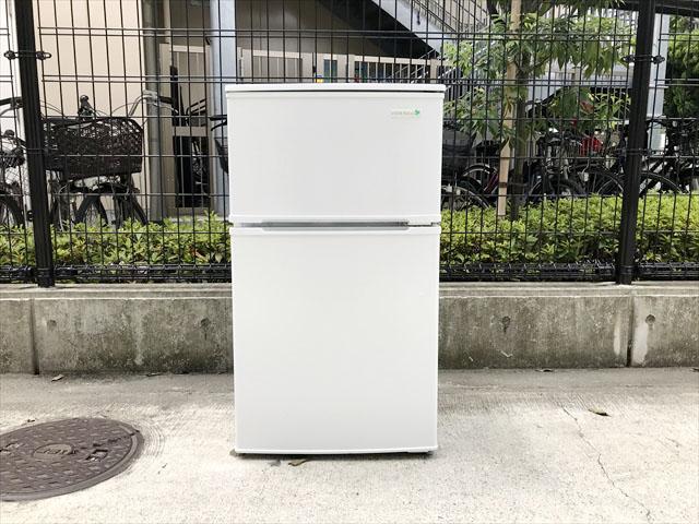 ヤマダ電機2ドア冷蔵庫