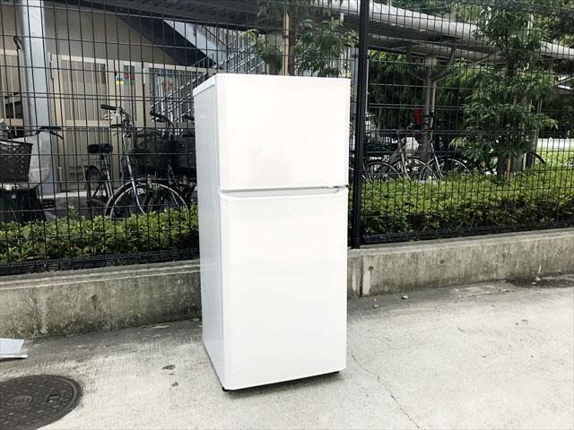 ハイアール121リットル冷蔵庫