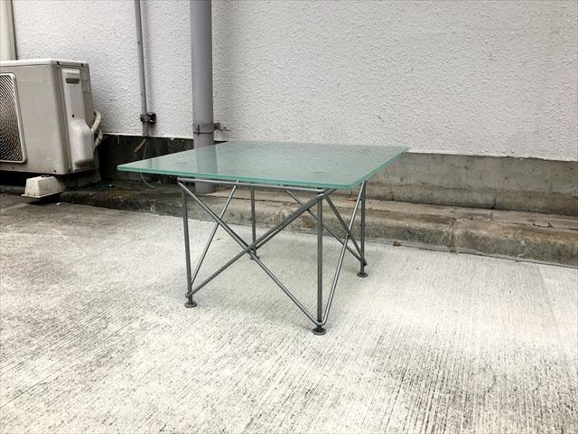 インザルームガラスサイドテーブル