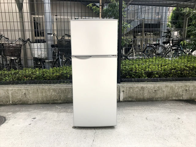 シャープ115リットル2ドア冷蔵庫