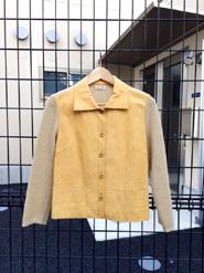 ゲンテンの本革レディースジャケット