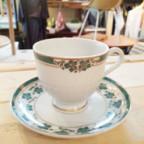 リモージュのカップ&ソーサー