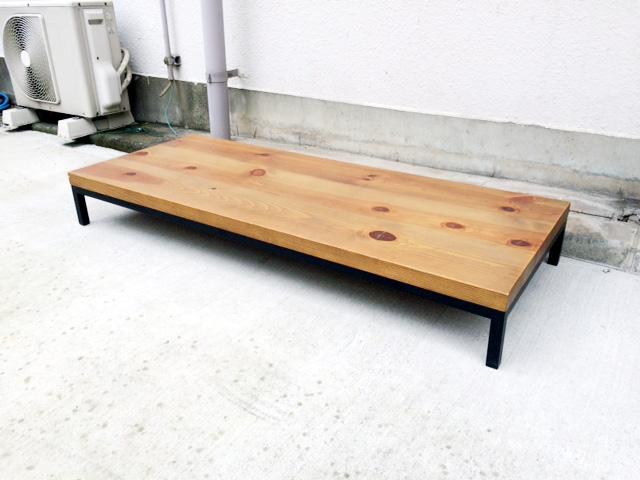 広松木工のパイン材ローボード
