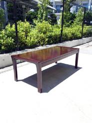 飛騨産業のカバ材ローテーブル