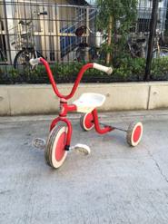 デンマーク製の三輪車