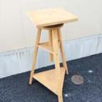 イタリア製の木製作業台