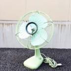 三菱のレトロな扇風機