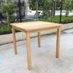 無印良品のオーク材ダイニングテーブル