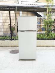 シャープの2013年製2ドア冷蔵庫