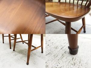 飛騨産業カフェテーブルセット詳細画像8