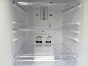 三菱の2ドア冷蔵庫詳細画像4
