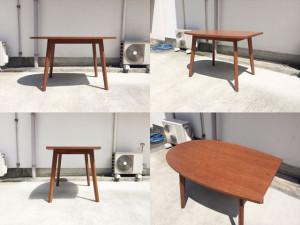 フランフランのパルセイロダイニングテーブル詳細画像4