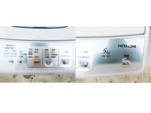 日立の洗濯機詳細画像1