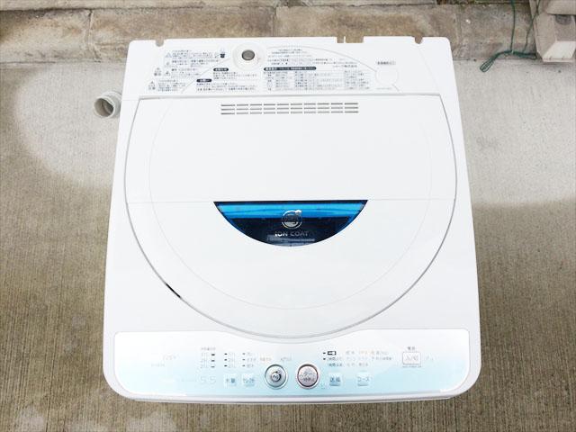 SHARPの中古洗濯機
