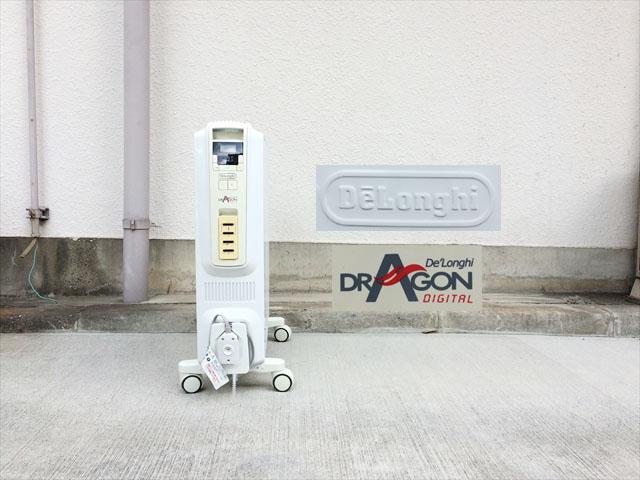 デロンギのドラゴンオイルヒーター